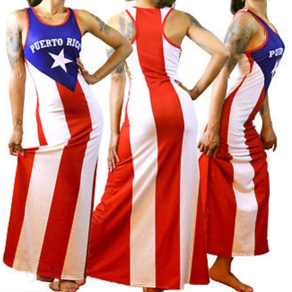 0b8898ac092 Dresses   Skirts - Puerto Rico flag dress